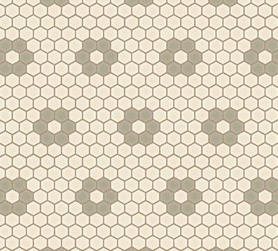 サンゲツ プレーン&パターン(六角形モザイクタイル)