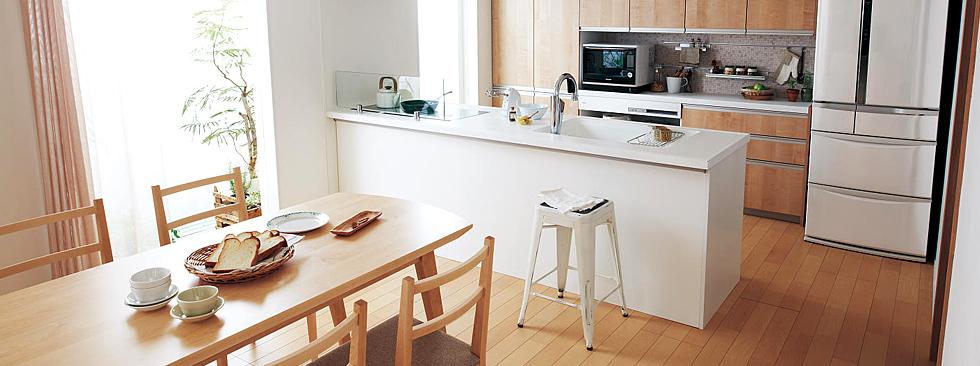 キッチン 台所の交換リフォームならリノコ 諸費用全て込みの安心価格