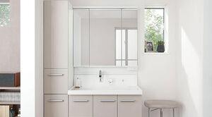 三面鏡付き洗面化粧台のメリット、デメリットとは?一面鏡との違いも紹介