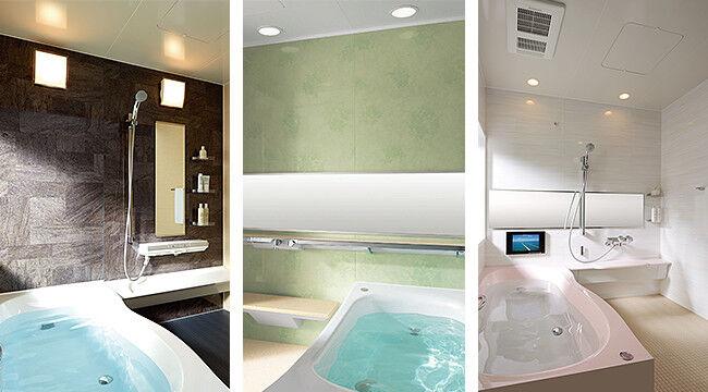 浴室サイズ1318(0.75坪)のユニ...