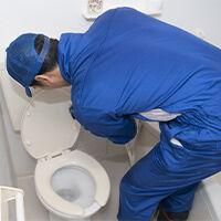 キャビネット・手洗器の解体