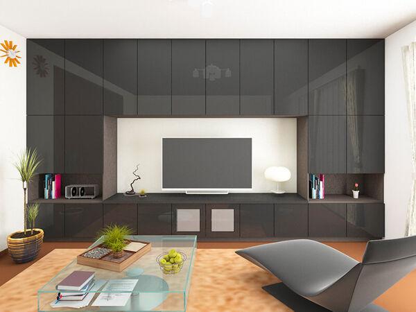 24種類の収納ユニットから選べるTVボード収納家具