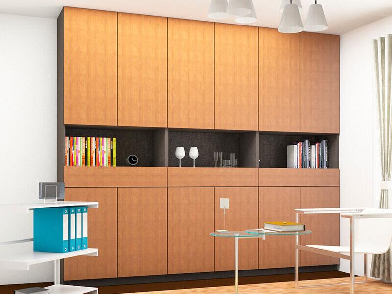 4種類の収納ユニットから選べる棚・本棚収納家具