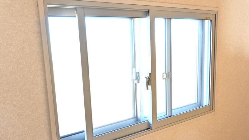 二重窓(内窓)を設置することで、騒音や音漏れを防止