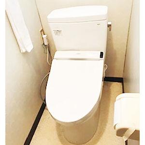 すっきりタンクのトイレで過ごしやすい空間に