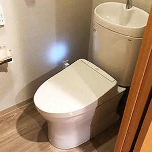 お掃除簡単な節水トイレで快適・エコな生活を