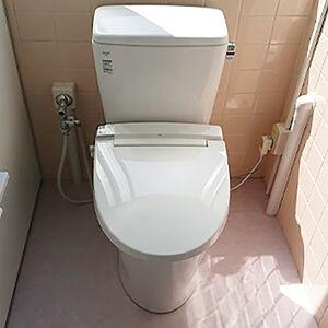 トイレ全体のリフォームで快適なトイレ空間に