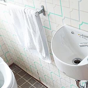 手洗いしやすくいつでも清潔に保てる手洗器付きトイレ