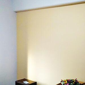 黄色のアクセントカラーを取り入れたお部屋に