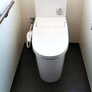 リフォームでお手入れ簡単なトイレ空間を実現!