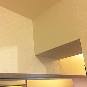 上階からの水漏れによるクロス汚損をリノコがしっかり修復