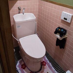 超節水で掃除がしやすいTOTOのピュアレストQRに交換