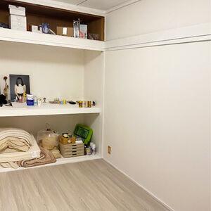 和室をリフォームして白ベースの北欧風のかわいい洋室に変身