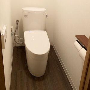 トイレ空間をまるごとリフォームして素敵な仕上がり