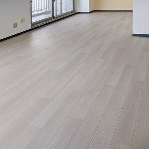 遮音効果あり、お手入れ簡単な床にして住心地の良い賃貸物件