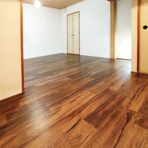 畳からクッションフロアに変えて和室が洋間へ大変身!