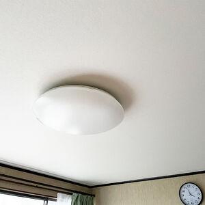 天井のクロス張り替えをして明るさと広さを感じられるお部屋