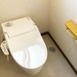 日々のお手入れが楽なNEWアラウーノVで快適トイレ空間