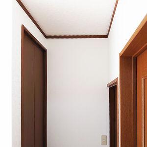 白いクロスはお部屋全体を明るくし広さも感じられます