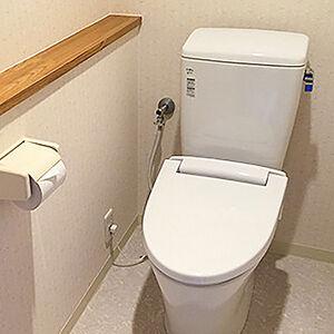 コストパフォーマンスに秀でたトイレ、アメージュZに交換