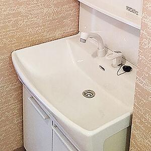 17リットルの大容量ボウルの洗面台に交換して水仕事を快適に