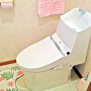 TOTO独自の技術が詰まった汚れに強いトイレにリフォーム