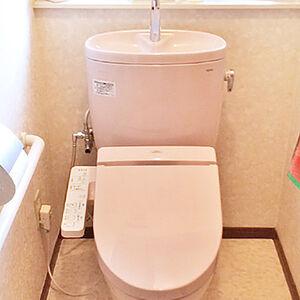 掃除のしやすい工夫された形状のトイレに交換