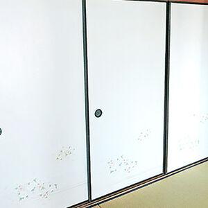 築25年のマンションの和室の内装をクリーニング