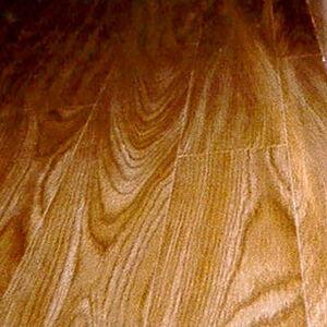 味わい深い木目のクッションフロアでリフォーム