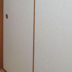 和紙風のふすま紙で張替え和室に自然に馴染むふすまへ