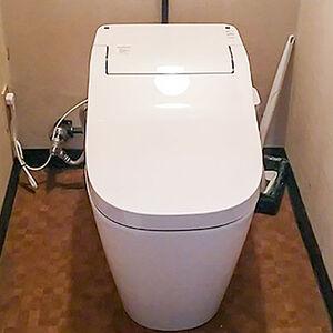 トイレが広くなり、快適機能もついていいことづくめ
