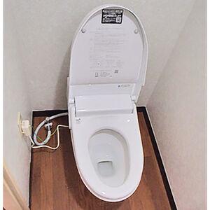 コンパクトサイズのサティスSで広く感じるトイレ空間