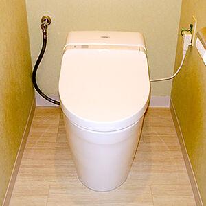 トイレと床の交換で新築の頃のような輝きを取り戻す