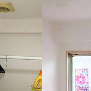 お部屋によって壁紙に変化をつけ、ニュアンスのある住まいに