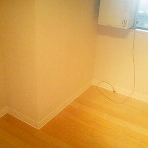カビていた巾木も取り換え清潔感が上がる室内になる
