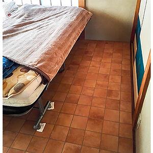 6畳の和室をクッション性のある床にリフォーム