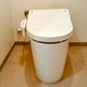 トイレ故障をきっかけに新しくアラウーノVを導入