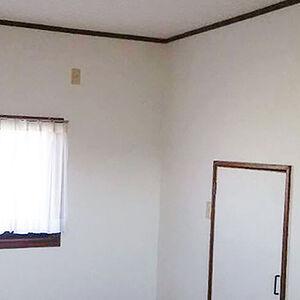 全てのお部屋にハイグレードのクロスを使用し快適空間