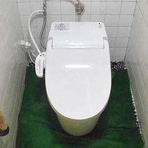お手頃価格のタンクレストイレ「New アラウーノV」に交換