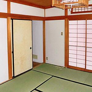 ふかふかしていた畳が新調で蘇る緑の和室