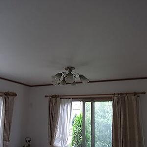各お部屋に汚れにくく耐久性のあるクロス使用