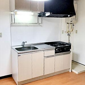 明るいキッチン、明るいお部屋で新しい賃貸ルーム