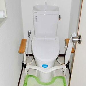 二世帯の安心して利用できるトイレを目指して