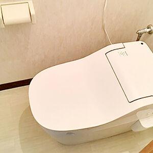 泡で洗う毎日キレイで気持ちのいいトイレに変身