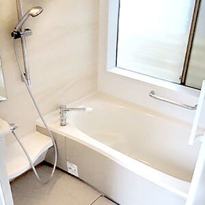 バスルームFZで手入れのしやすいお風呂を実現!