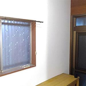 リリカラのLB-9042へ天井や壁を張替えて爽やかな空間へ