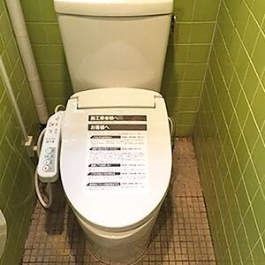 節水型トイレでも強い洗浄力できれいが長続きします
