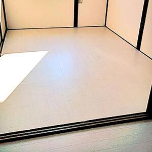 明るいクッションフロアでお部屋のイメージチェンジ