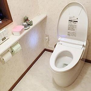 自らきれいを保ってくれるトイレでお掃除の手間が省けます
