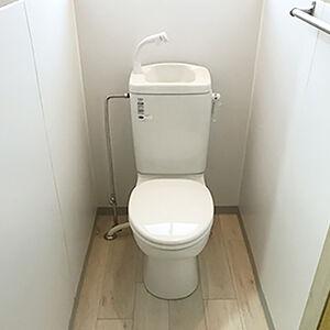 昔ながらのトイレを爽やかな使用感の簡易水洗にリフォーム